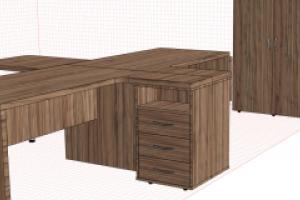 Преимущества индивидуального заказа офисной мебели