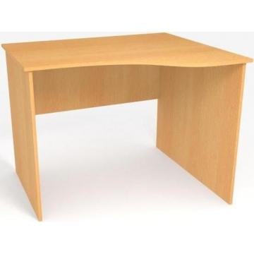Стол в офис криволинейный БЮ106