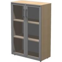 Шкаф низкий ПР602.4 (прозрачное стекло)
