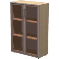 Шкаф низкий ПР602.4 (тонированное стекло)