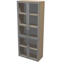 Шкаф для документов ПР601.11 (прозрачное стекло)