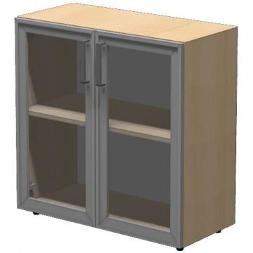 Шкаф низкий ПР603.2 (прозрачное стекло)