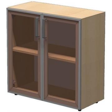 Шкаф низкий ПР603.2 (тонированное стекло)