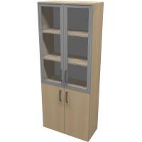 Шкаф для документов ПР601.5 (прозрачное стекло)