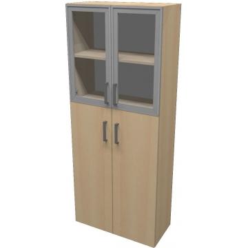 Шкаф для документов ПР601.8 (прозрачное стекло)