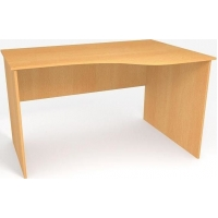 Стол в офис криволинейный БЮ110
